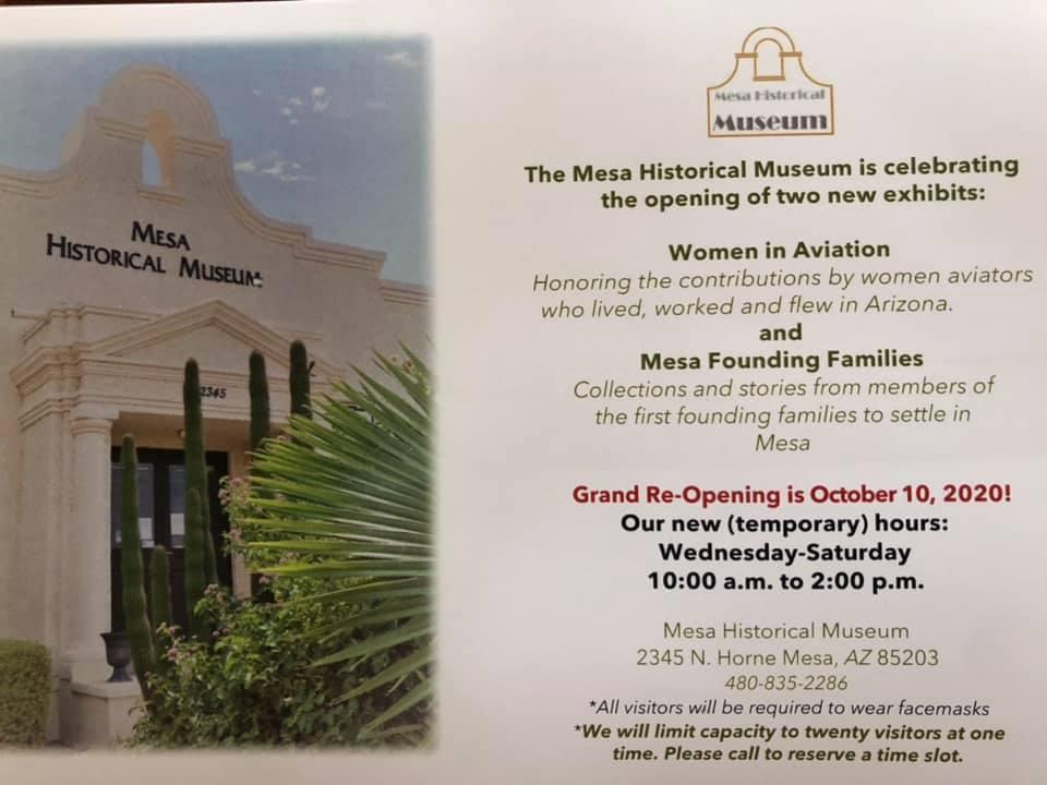 Mesa Museum Grand Reopening